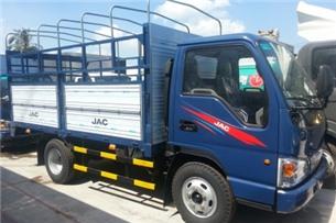 Xe tải jac 2t4t/xe tải 2.4 tấn thùng mui bạt /xe tải 2400kg thùng kín