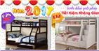 Giường tầng trẻ em giá rẻ tại TPHCM - Giải pháp tiết kiệm không gian