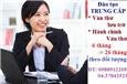 Học Trung cấp Văn thư lưu trữ cấp tốc ở Hà Nội - có bằng nhanh